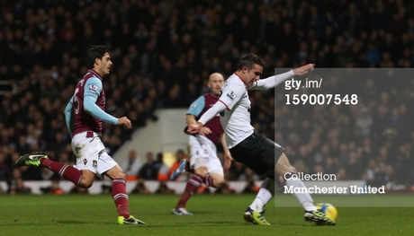 12/13 The FA Cup 3rd Round West Ham United 2-2 Manchester United